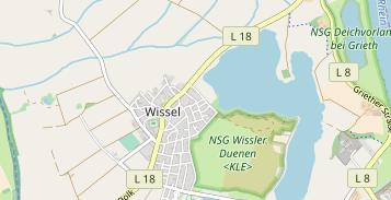 Karte Niederrhein.Kks Niederrhein Kalkar Wissel In Deutschland